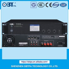 OBT broadcasting digital power amp PA public address system 450watts IP network voltage amplifier