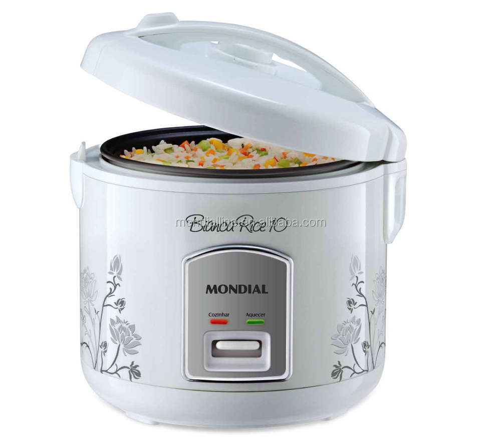1.8L white color national premium electric rice cooker with non-stick pan