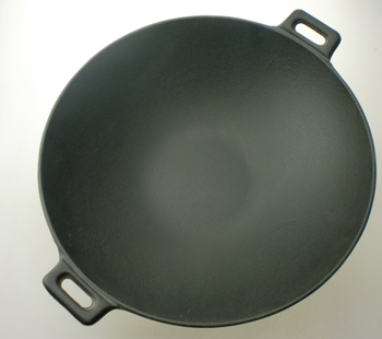 Traditional Chinese Cast Iron Wok Pan For Chef Big Wok