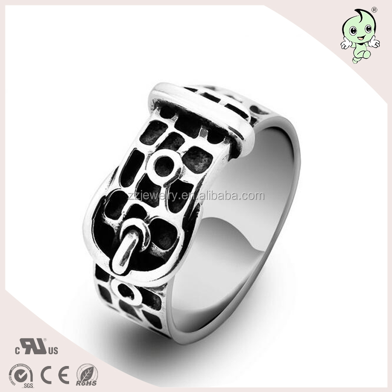 Fine quality jewelry S925 sterling silver men's ring