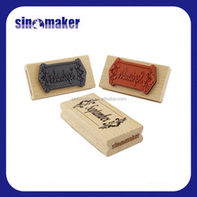 Kids Embossing Wax Wood Stamp