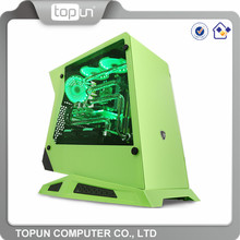 Hot sale aluminium pc case /cheap water cooled computer gaming case