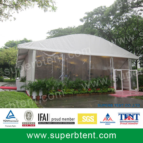 Aluminium arch tent for exhibition and party from Guangdong manufacturer