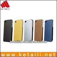 High quality hard waterproof mobile phone case with bright shape for iphone 5