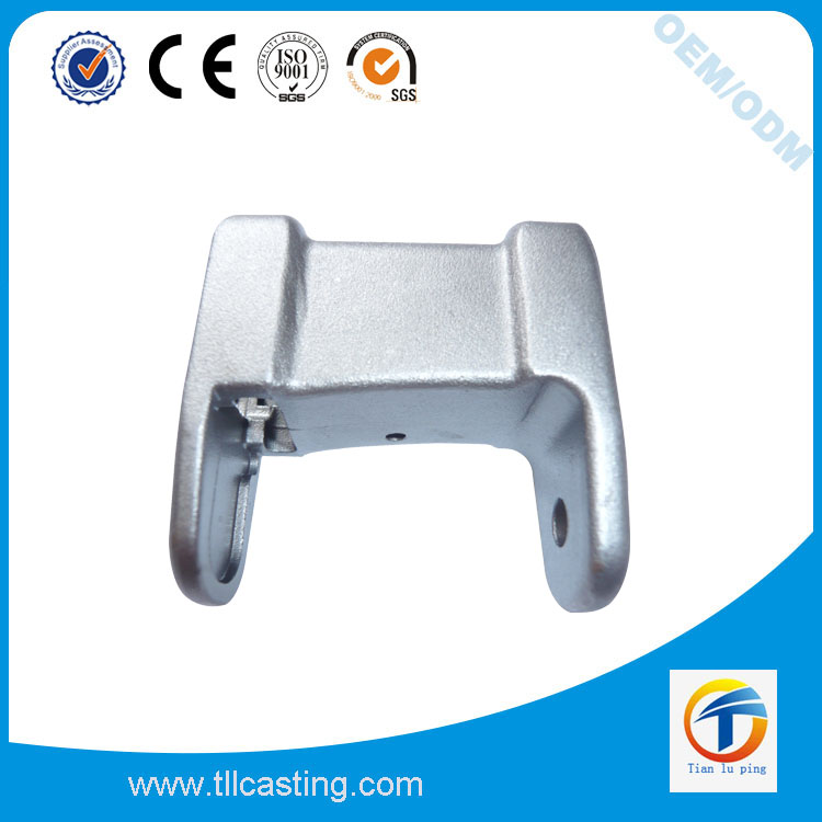 Stainless steel shipping container door parts in precision casting process