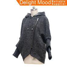 Top quality elegant women thick warm winter woolen coat ,winter wool coat