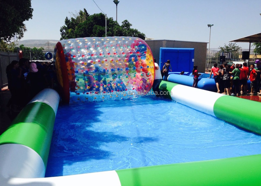 Customized Commercial Inflatable Pool / Large Inflatable Swimming Pool For Water Ball