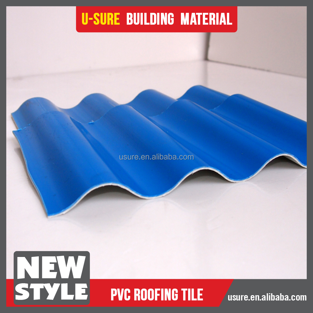 Hot product 2017 pvc roof building materials for houses
