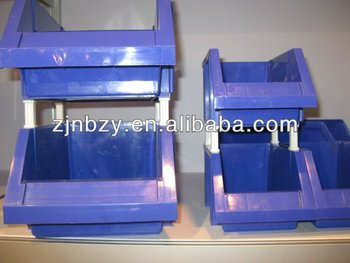 3 PLASTIC ACCESSORY BINS ZY3822A
