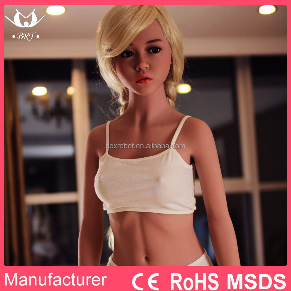 Lifelike Young Girl Sex Doll 156CM Realistic Silicone Black Doll with 3 <strong>holes</strong> with MSDS RoHS