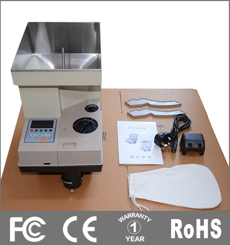 automatic coin counting machine