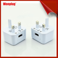 High Quality Real 2A UK Plug AC 5v Power Adapter Wall Charger USB Travel Universal Chargers for SamSung Galaxy S4 Note 2