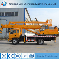 2016 Hot Exported Mini Knuckle Boom Crane on Best Quality Trucks