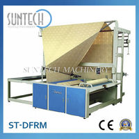 SUNTECH Factory Direct sale Textile Folding and Rolling Machine Fabric Double Folding and Rolling Machine