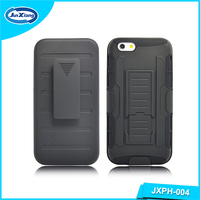 Multifunction protective mobile phone back cover holster case for iphone 6