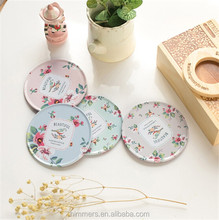 Beautiful Bird Tin Coaster Set