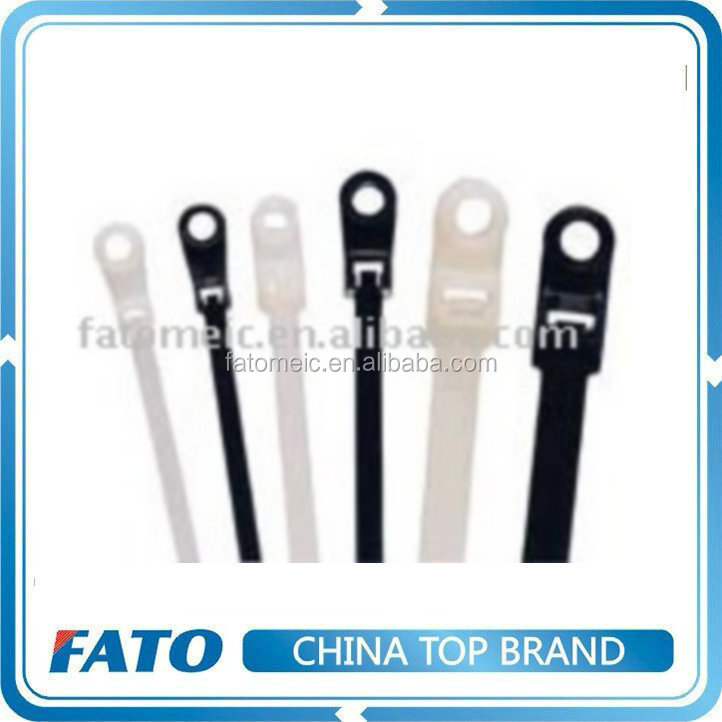FATO Nylon Mounting Head Cable Ties