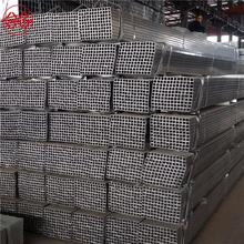 chinese supplier square price pre-galvanized npt thread galvanized steel pipe nipple china tube