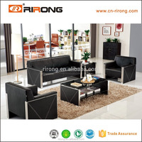 Darker modern color leather sofas european style sectional sofa
