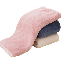 Hot sale coral velvet water absorption hotel bath towel