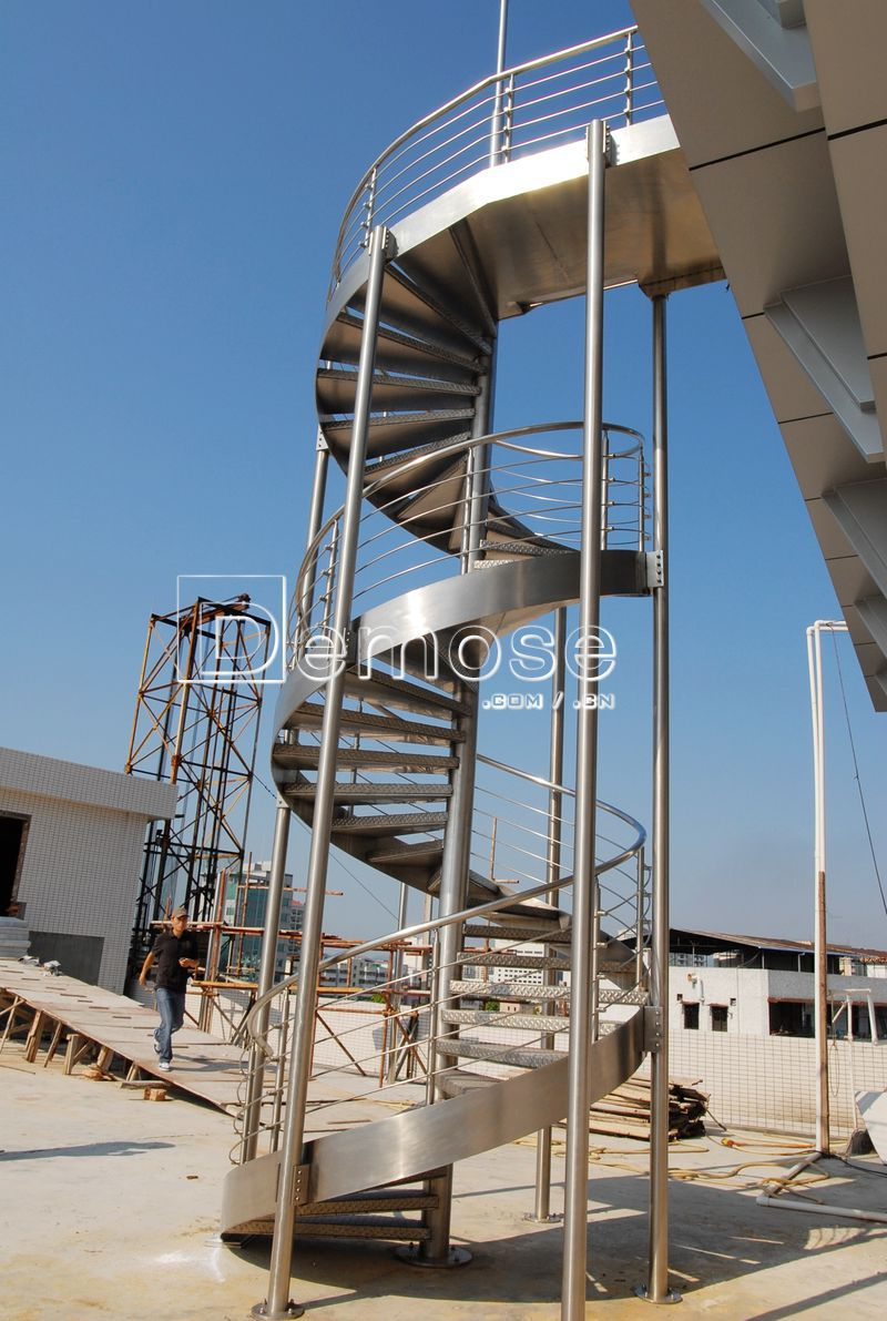 Prefabricated stairs outdoor cast iron spiral stair buy for Prefabricated staircase