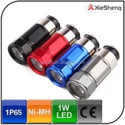 4 Color Mini Rechargeable Battery Power Source and Ni-MH Battery Type Car Cigarette Lighter Torch