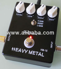 Xinsound Metal Distortion Effects Three Modes and True bypass