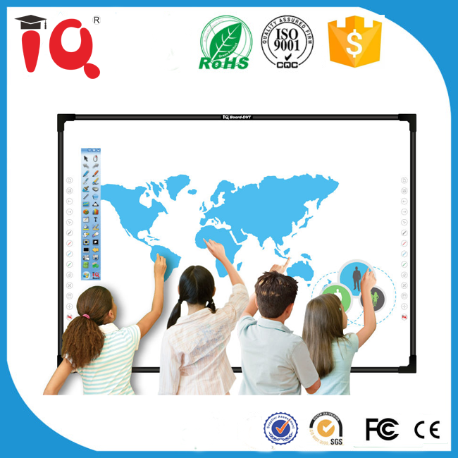new technology finger touch digital interactive whiteboard for education