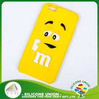 Colorful silicone custom design fashion mobile phone case