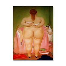 Wholesale Handmade Nude Fat Woman Oil Painting