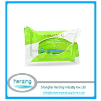 Private Label Feminine Intimate Personal Cleaning Wipes