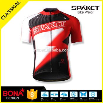 Spakct men team custom cycling clothing high+quality italian eco-friendly ink quick qrying