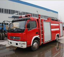 EQ5070T 4x2 Dongfeng 3-4.5 T water tank fire fighting truck