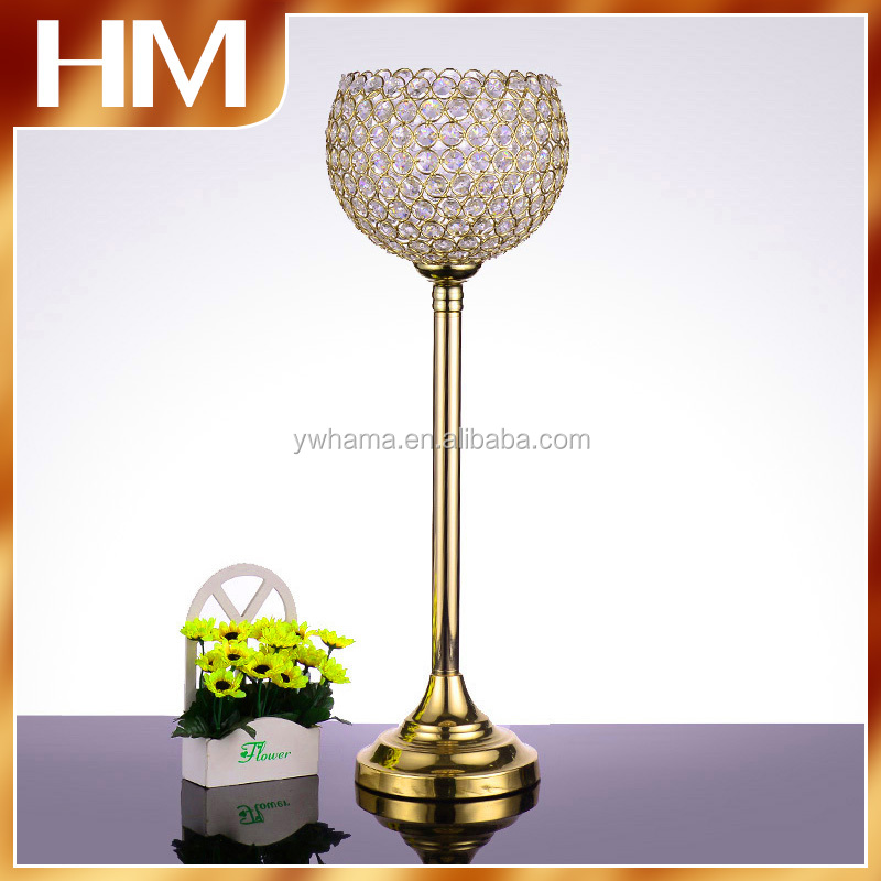 shiny crystal ball wedding centerpiece decoration for wedding&party&hotel