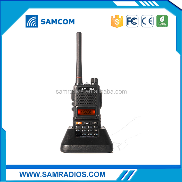 SAMCOM AP-100 Dual Band Handheld Intercom Walkie-Talkie Two Way Radio