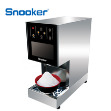 Snooker Exclusive Touchable Interface Bingsu Snow Flake Ice Cream Maker