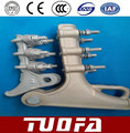 4 U-Bolts Aluminium alloy Strain Clamp
