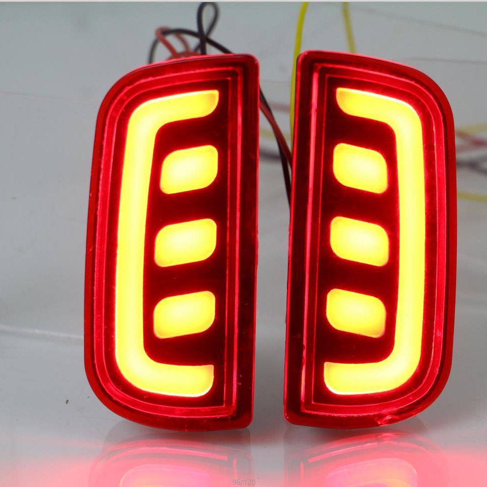 Factory price led modified rear reflector light for Hondas Civic
