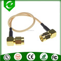 2015 New arrival FME female to MMCX male right angle pigtail RG316/RG174 for WLan Radio Frequency RF Cable