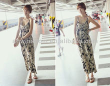 KOREAN STYLE ELEGANT LADY'S BEACH DRESS