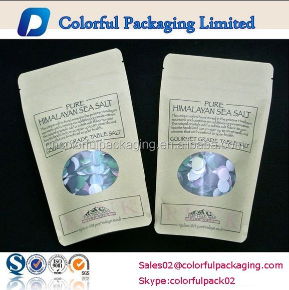 Craft doypack bags for dry herbs packaging