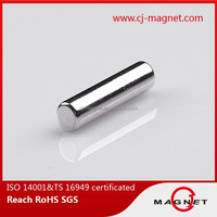 High quality permanent cylinder neodymium magnet for motor price