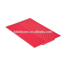 New design fashion kitchenware silicone drying pad