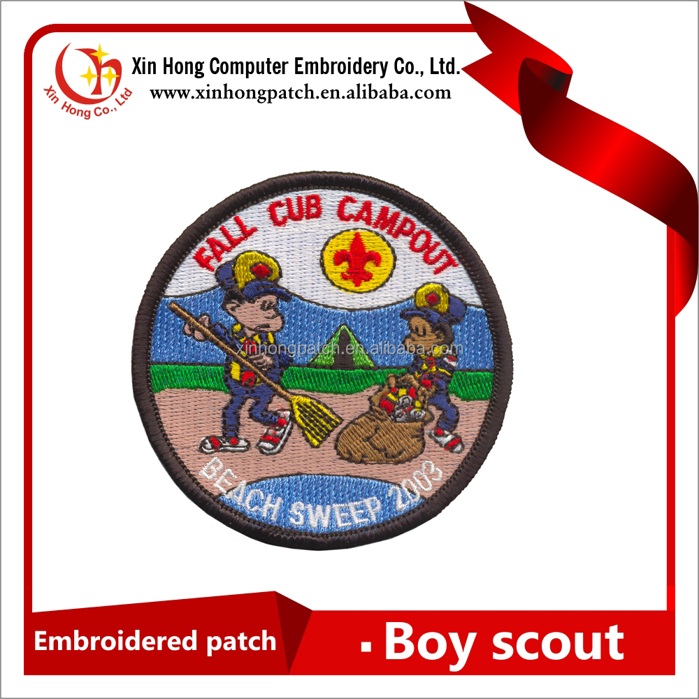 Personalized Boy Scout Embroidery Designs Patch
