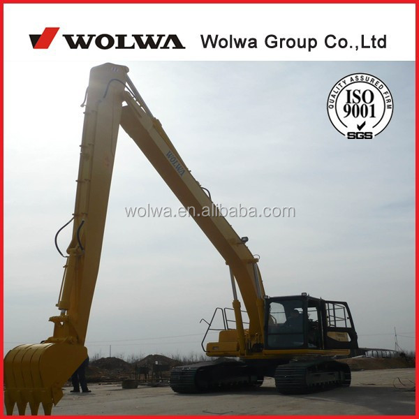 crawler long boom excavator for sale, 21ton excavator with 18meters long boom
