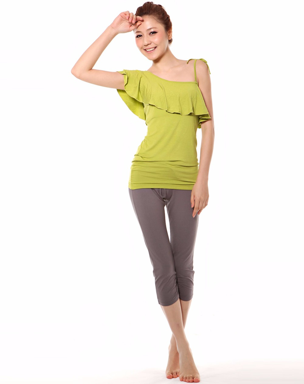 OEM High Quality Sleeveless Organic Yoga Clothing
