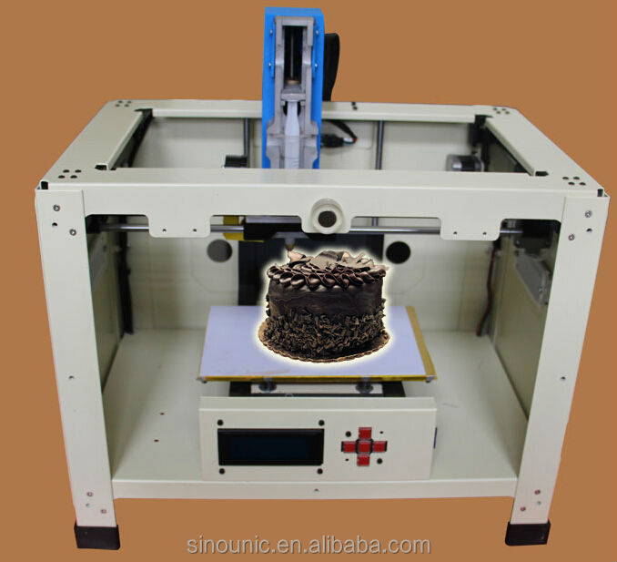 DIY 3d chocolate machine for snack shops and cafe'