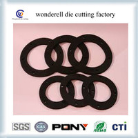 best price die cut silicone rubber o rings o ring material manufacturer in china