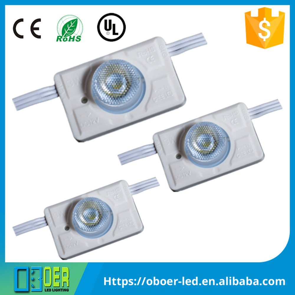 High quality DC12V led <strong>modules</strong> 3 watt side-lit for double-sided light boxes