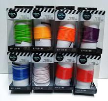 Waterproof multi color Welted el wire to make animated suits hoodies,shoelace,cap,shirt,hat,costume EL Flashing Wire